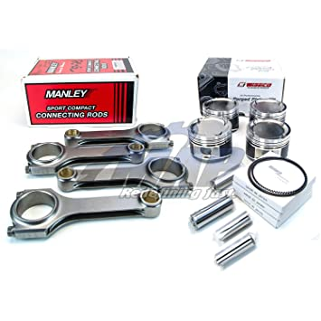 Wiseco Pistons 92 5mm Bore Manley Rods Kit for 2002-05 Subaru WRX 4v