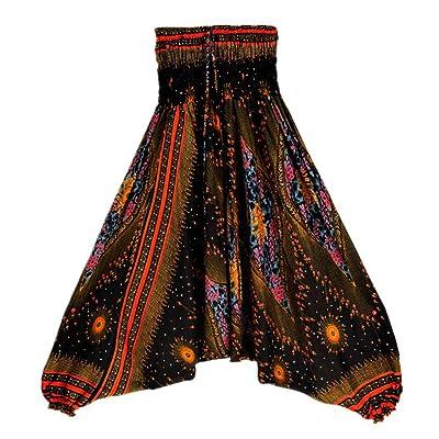 Fuibo pantalons de sport yoga ❤ femmes occasionnels yoga Pant ❤ été Loose Bohème Baggy Aladdin salopette Sarouel pantalons ❤ Sports gym yoga Running fitness leggings pour le sport pantalons de yoga