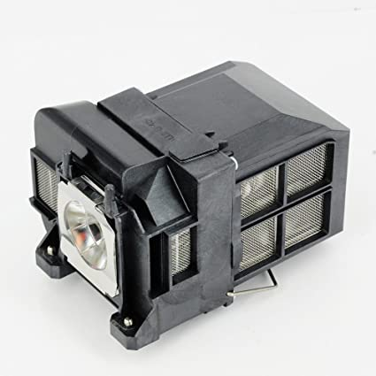ELPLP77//V13H010L77 Projector Replacement Compatible Lamp with Housing for Epson EB-1980WU EB-4550 EB-4650 EB-4750W EB-4850WU EB-4950WU Powerlite 4855WU Powerlite Home Cinema 1440 Powerlite 1980WU