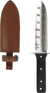 FLORA GUARD Hori Hori, 12'' Garden Knife Gardening Tool with Stainless Steel Japanese Blade