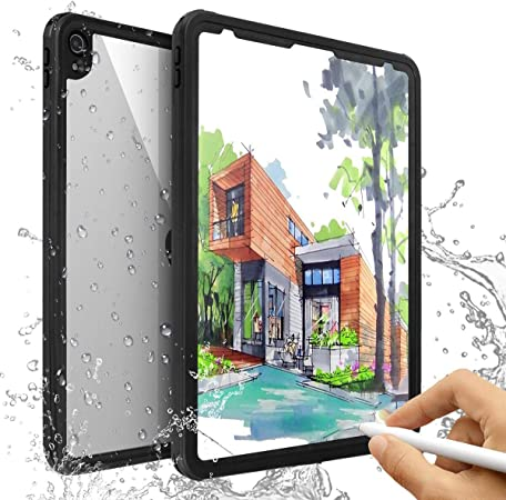 Aicase Ipad Pro 12 9 Inch Waterproof Cases Ip68 360 Elektronik