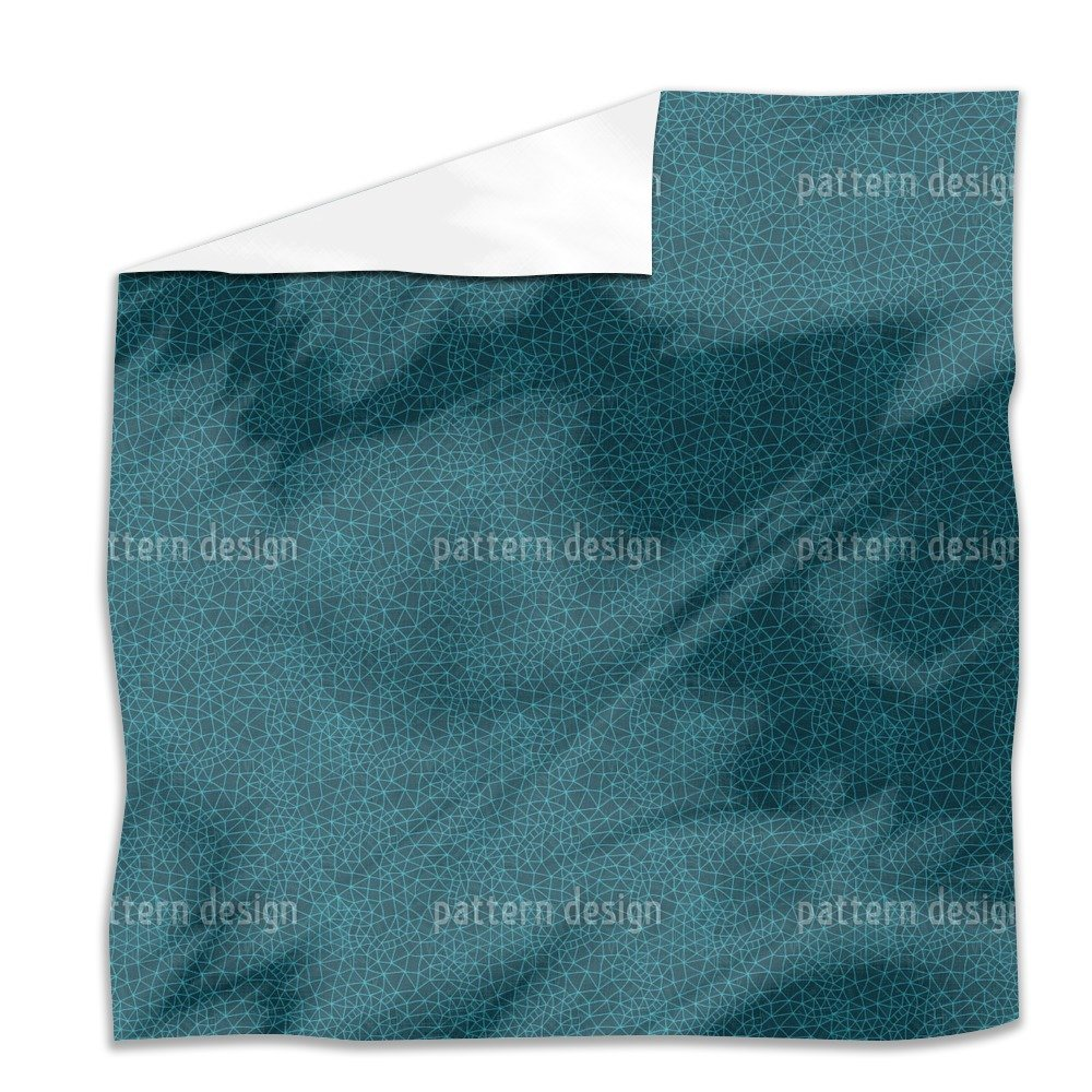 Digital Universe Flat Sheet: King Luxury Microfiber, Soft, Breathable