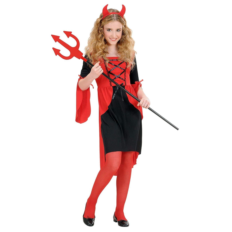 Disfraz de diablesa para niña (8/10años - 140 cm): Amazon.es ...