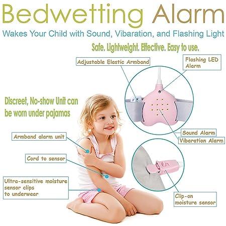 Fency Alarma de enuresis de la tubería, 3 funciones. Alarma ...