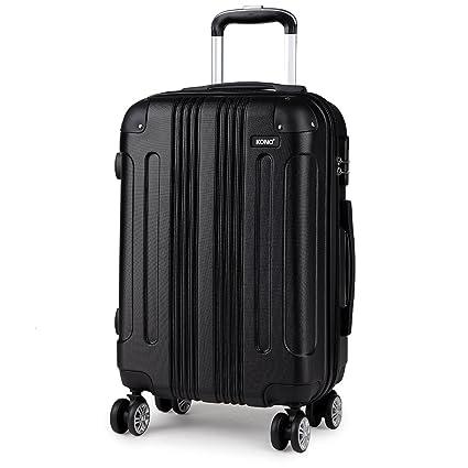 b97fb2d71 Kono 3 Piece Luggage Sets Light Weight ABS Hardshell 20