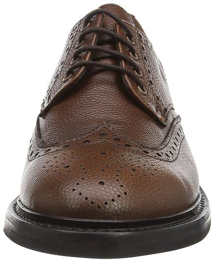 Hackett Gibson, Zapatos de Vestir para Hombre, Marrón (Tan 869), 42 EU