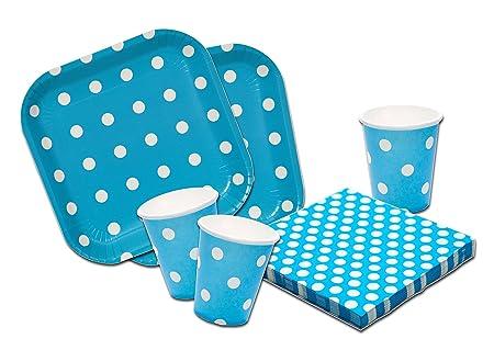 Platos,vasos y servilletas desechables Cumpleaños Niña y ...