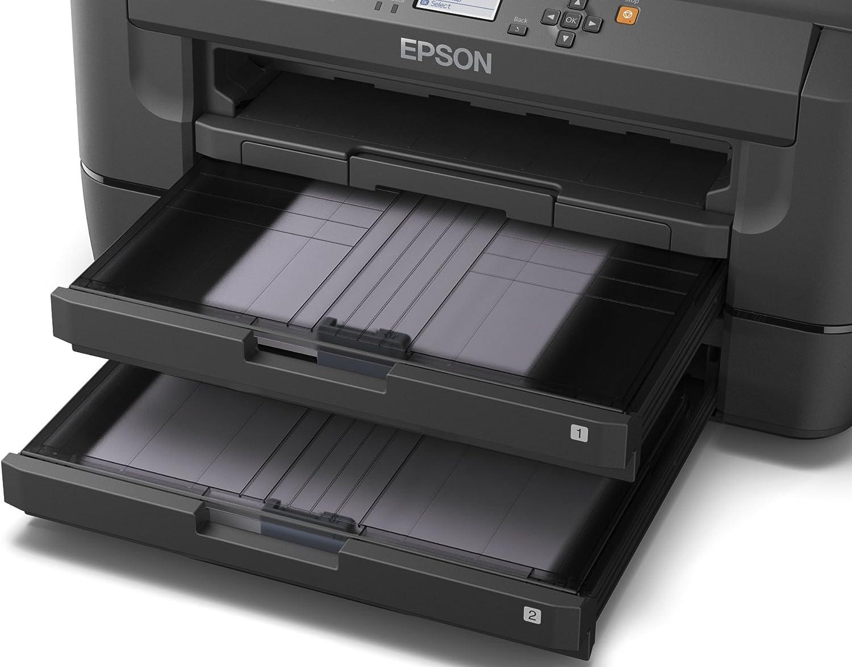 Epson WorkForce WF-7110DTW - Impresora a color (WiFi, WiFi Direct ...