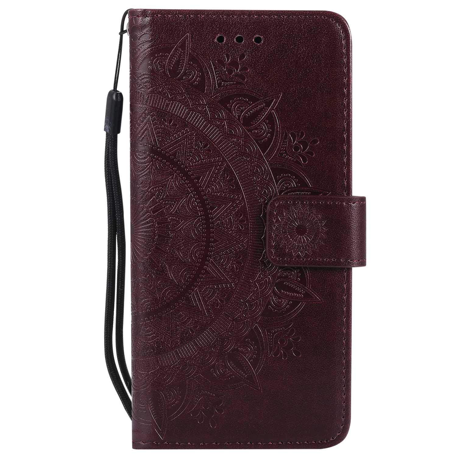 iPhone 7 8 Case, The Grafu Leather Case, Premium Wallet Case with [Card Slots] [Kickstand Function] Flip Notebook Cover for Apple iPhone 7/8, Brown