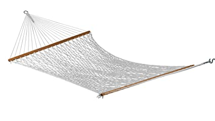 Hangit 55 Inch Hammock Swing For Two Person With Hanging Hardware (Cotton)