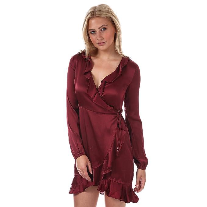 Vero Moda - Vestido - para mujer Rojo rosso 36