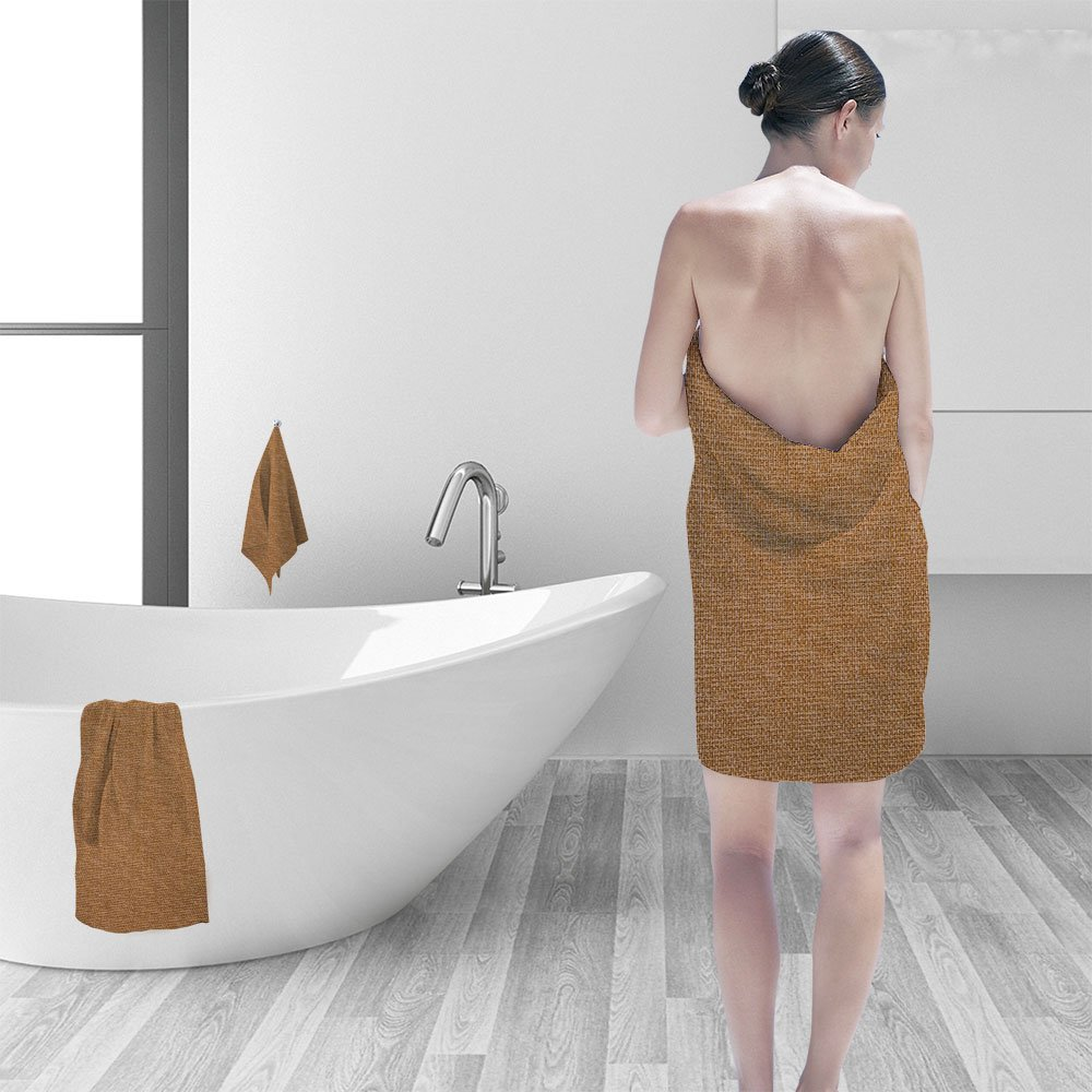 Nalahomeqq Hand towel set Recycled wood texture personality printPolyesternon-mildewpattern custom made19.7''x19.7''-13.8''x27.6''-31.5''x63''