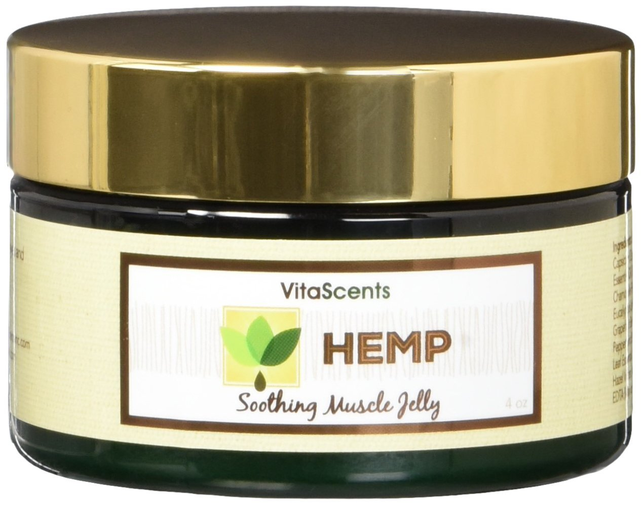 Vitascents Hemp Soothing Muscle Jelly Beauty Barn Kid Citronella Body Oil