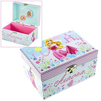 Disney Princess Sleeping Beauty Aurora Jewellery Box Amazoncouk