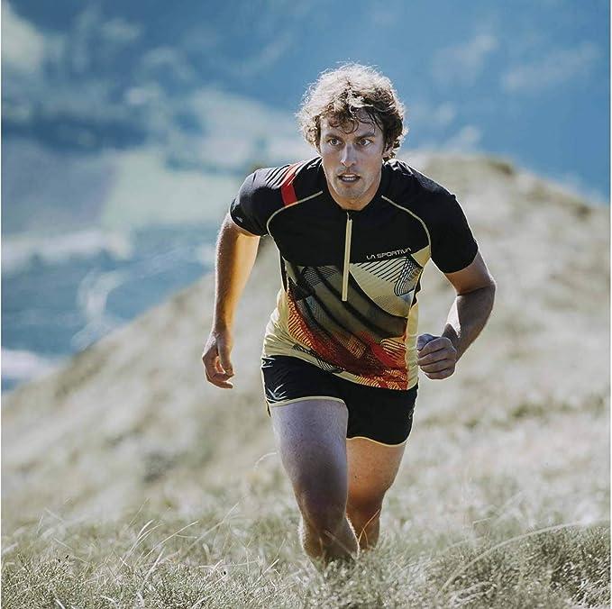 La Sportiva J89999100.L Camiseta, Amarillo/Negro, Unisex-Adult: Amazon.es: Ropa y accesorios