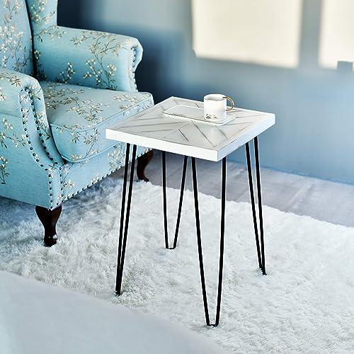 WELLAND 16″ x 16″ x 24″ Tall Side Table