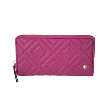 9487b8e79b Image Unavailable. Image not available for. Color: Tory Burch Fleming  Leather Zip Continental Wallet ...