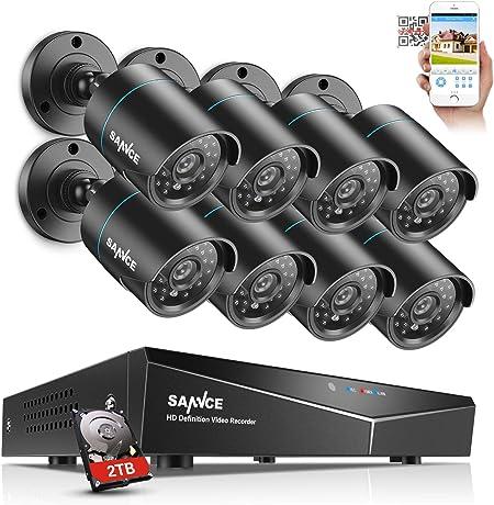 5 MP SANNCE POE /Überwachungskamerasystem