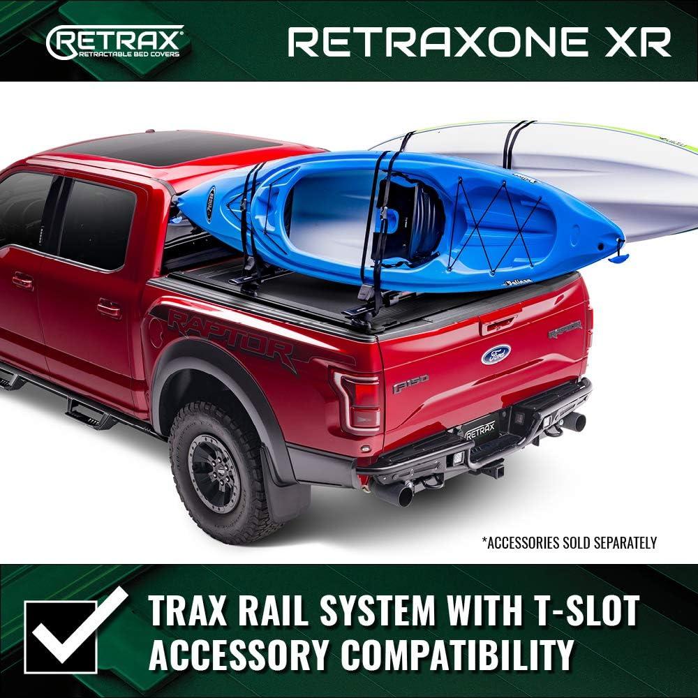 60383 RetraxONE MX Retractable Truck Bed Tonneau Cover Fits 2017-2020 Super Duty F-250-350 9 6 8 Bed