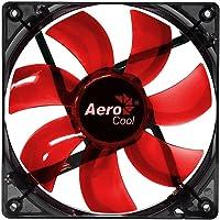 Cooler Fan 12cm RED LED EN51363 Vermelho AEROCOOL, AEROCOOL, Acessórios para Computador