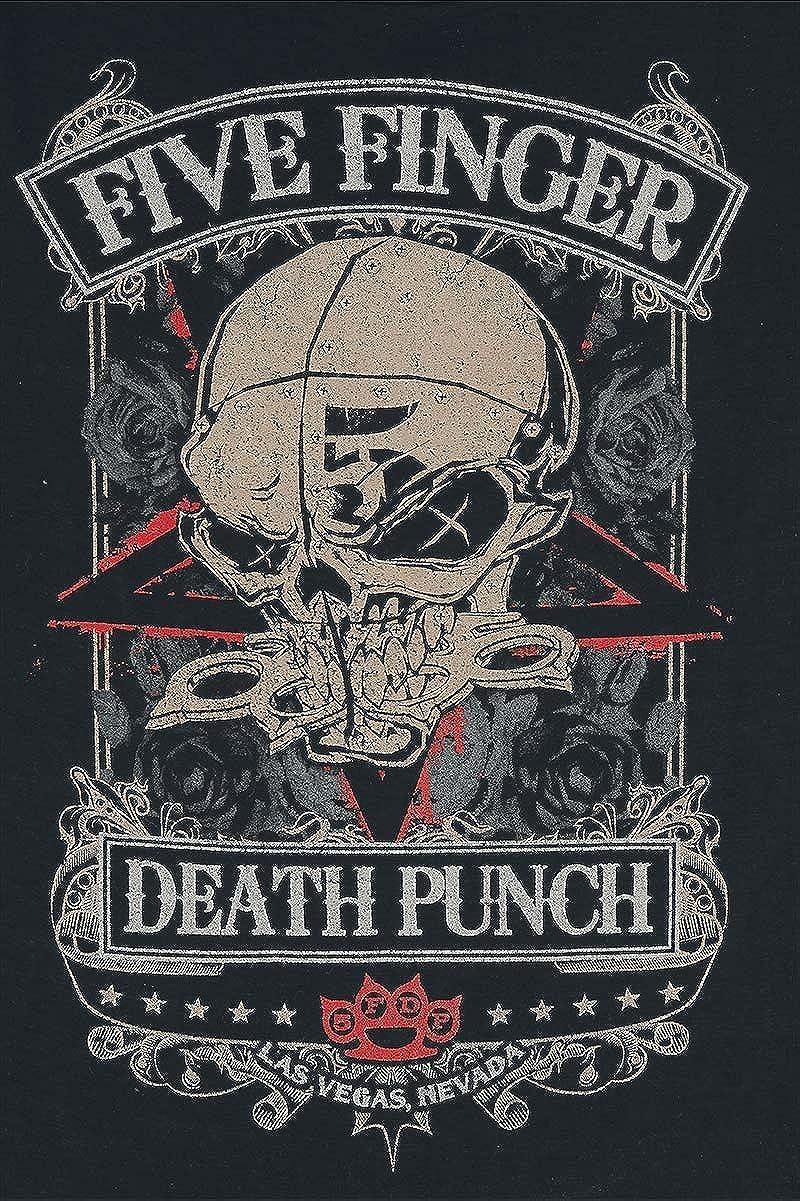 Five Finger Death Punch Wicked T-Shirt schwarz