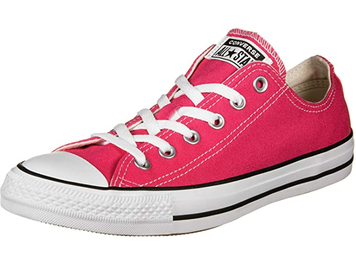 Converse Chucks Chuck Taylor All Star Low Top Ox Sneakers Unisex Rosa