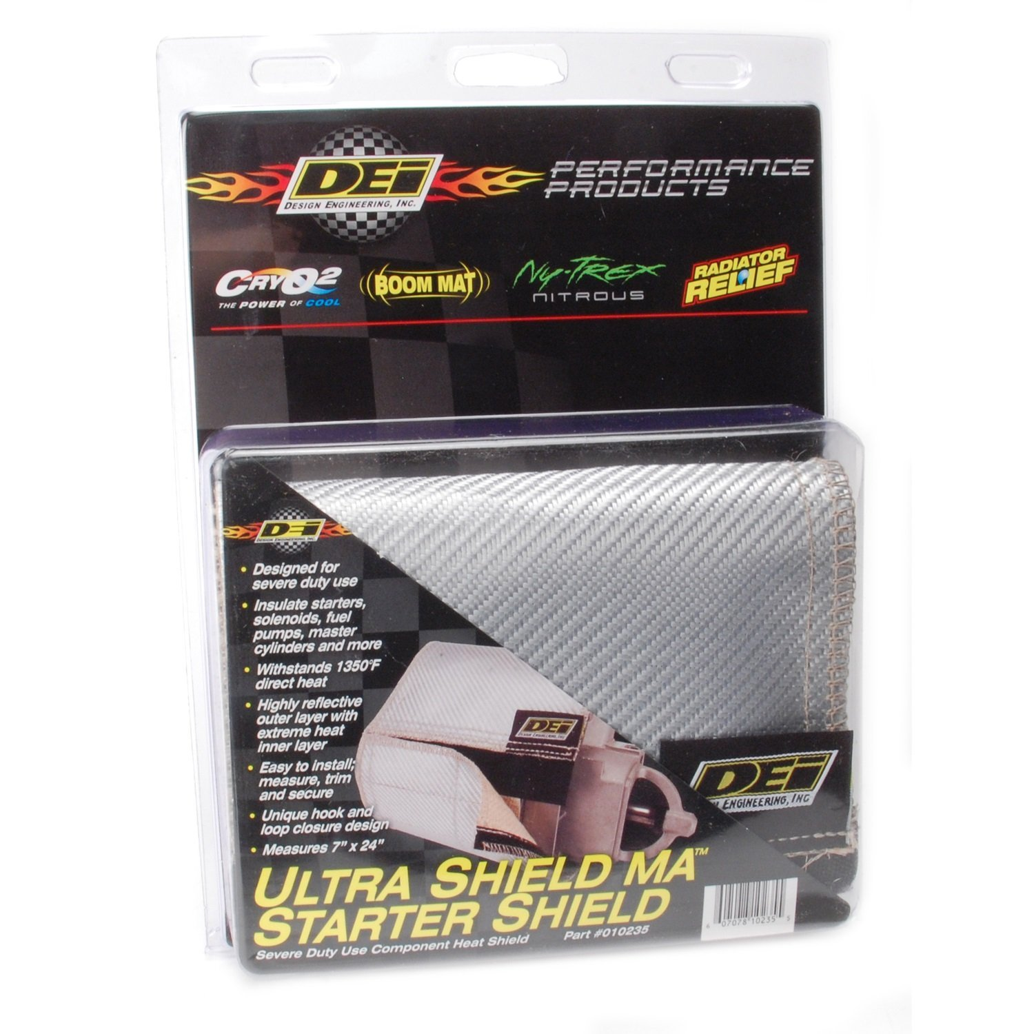 DEI 010235 Ultra 47 Starter Shield for Extreme High Heat, 7'' x 2'