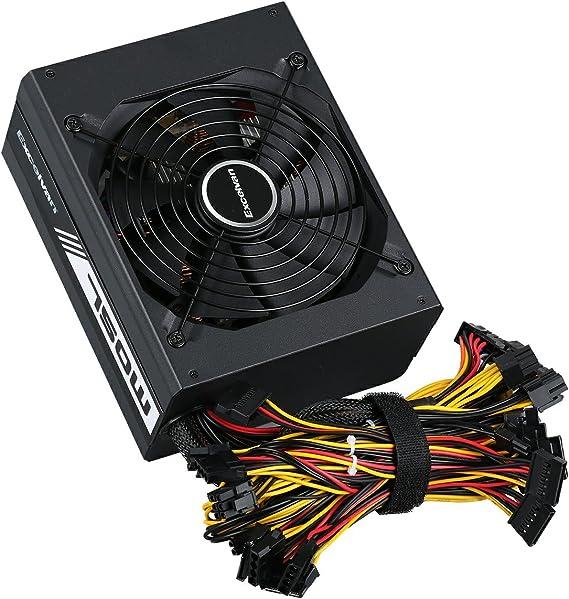 Excelvan 750W - AMD 750W Fuente de Alimentación de Ordenador PC ...