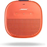Bose SoundLink Micro, Portable Outdoor Bluetooth Speaker with IPx7 rated waterproof design - Bright Orange