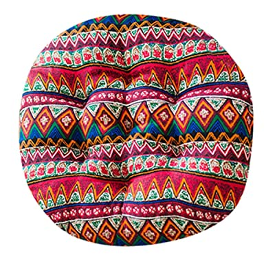 Sothread Soft Creative Round Seat Cushion Garden Patio Home Kitchen Office Chair Pad (B): Home & Kitchen