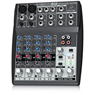 front facing Behringer Xenyx 802 Premium 8