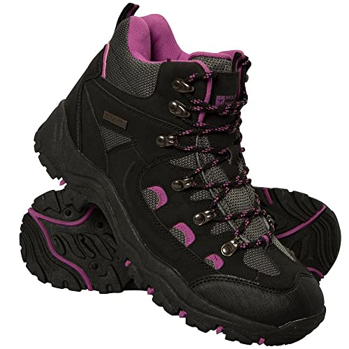 Mountain Warehouse Adventurer Womens Boots - Waterproof Rain Boots,  Synthetic & Textile Walking Shoes,