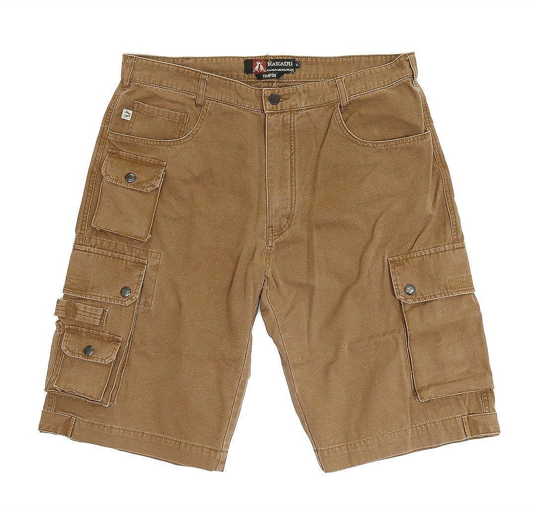 Kakadu Traders Herren Cargo Shorts Utility