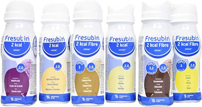 Fresubin - Bebida de 2 kcal, 6 x 200 ml: Amazon.es: Salud y ...