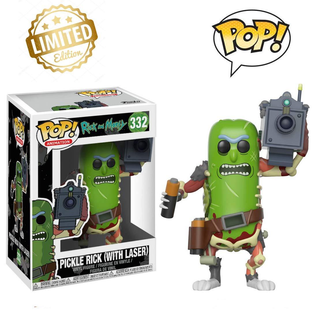 Amazon.com: Pop Animation Morty-Pickle Rick - Figura ...