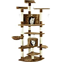 MOCHA Cat Tree Condo Multi-Level Activity Tower Furniture Scratch Post Pet Play House Kitty