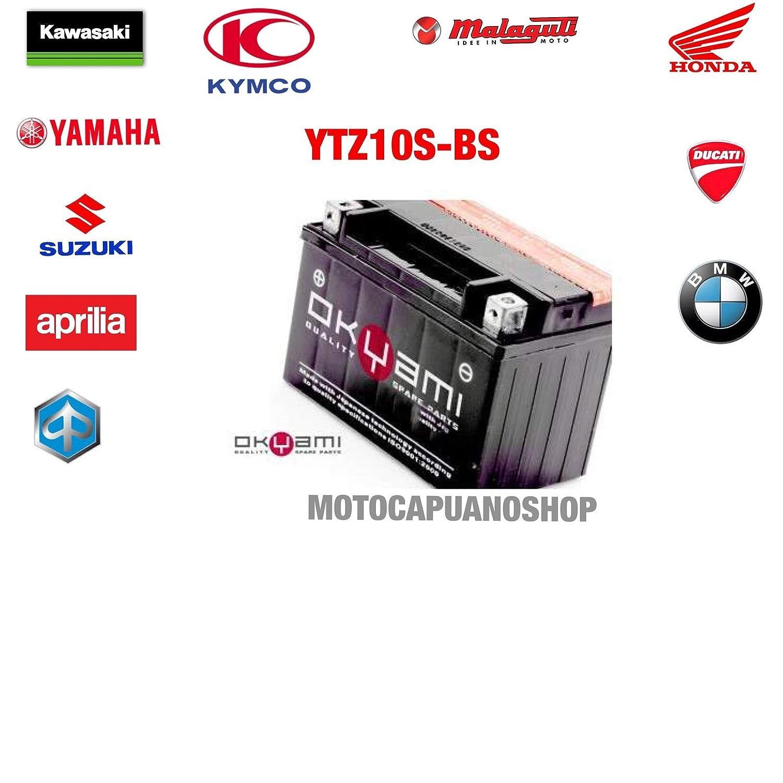 BATTERIA YTZ10S-BS PER HONDA CB1000R CB 1000 R ANNO 2008-2009-2010