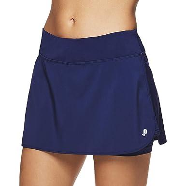 8356fdfe9285 Penn Women s Spike Athletic Mini Skort for Performance Training Tennis Golf    Running - Medieval Blue