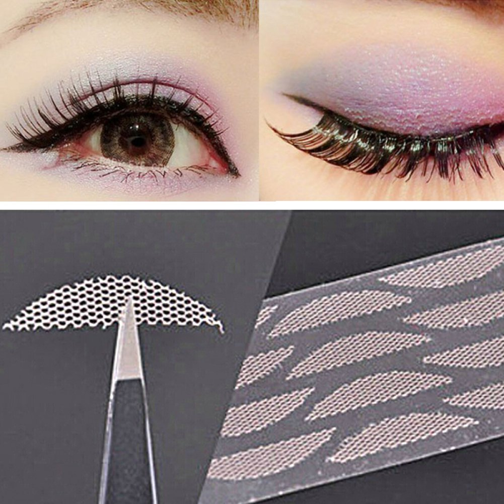 GSTONE Gauze glue lace stick Stealth double-fold eyelid sticker without mesh fashion chic 1