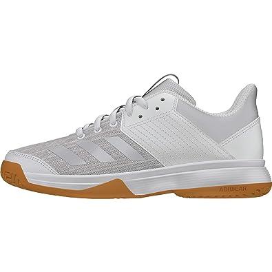 big sale e887f 98209 adidas Unisex-Kinder Ligra 6 Volleyballschuhe, schwarzgrau Amazon.de  Schuhe  Handtaschen