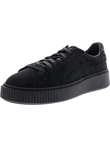 PUMA Platform Velvet Crushed GEM Black 5.5 89d846847
