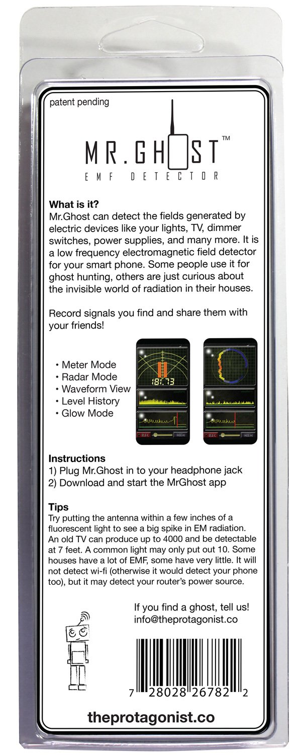 Mr.Ghost EMF Detector for iPhone: Amazon.ca: Cell Phones & Accessories