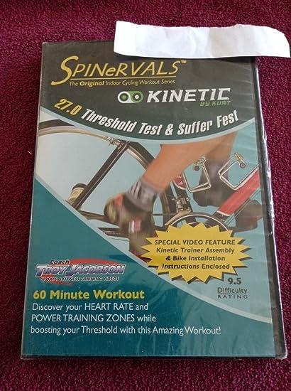 Spinervals 27 0 Threshold Test and Suffer Fest DVD
