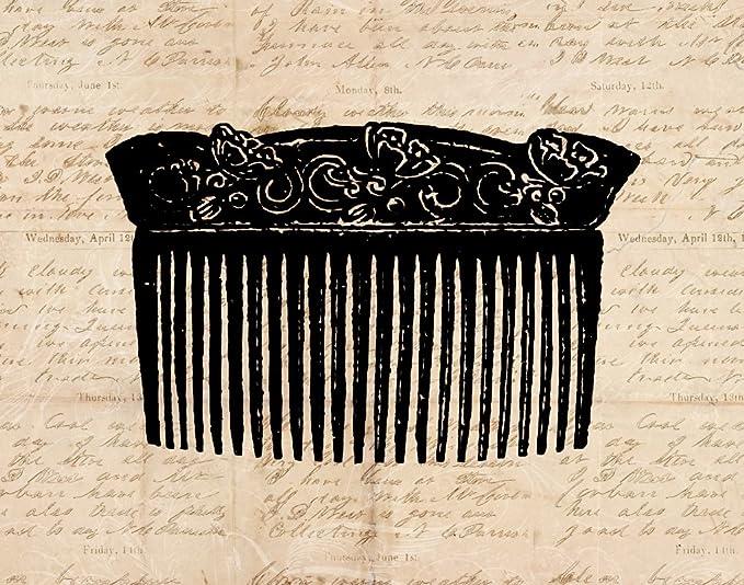 Amazon.com: clásico Hair Comb Old Fashioned clásico ...