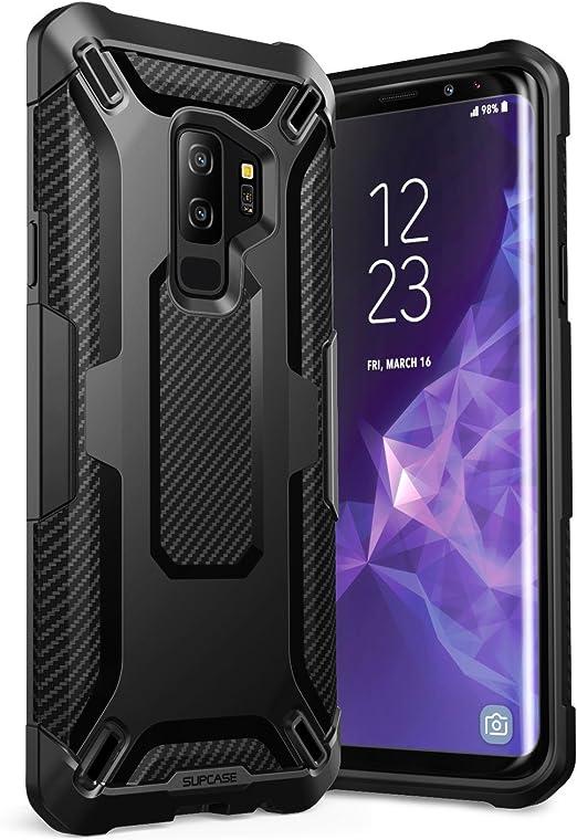SupCase Funda Galaxy S9 Plus Transparente Case [Unicorn Beetle Series] Funda Protectora para Samsung Galaxy S9 Plus 2018 TPU/Negro: Amazon.es: Electrónica