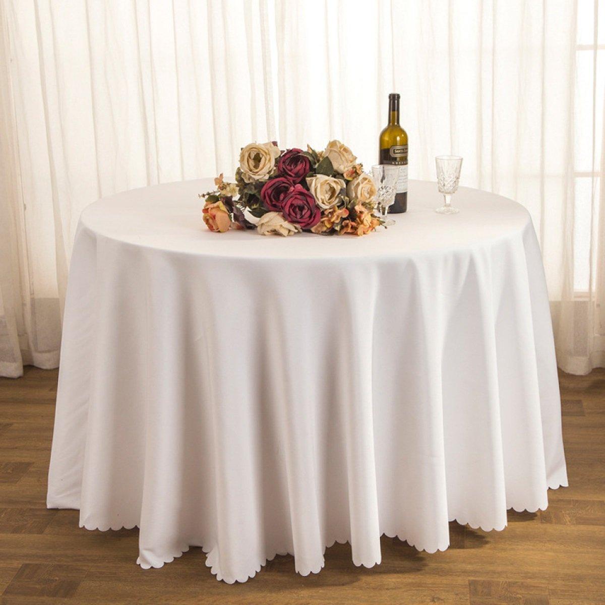 Tao Tischtuch Tischdecke Stoff Tee Tischdecke Hotel Restaurant Polyester Tischdecke Konferenztisch Rock Hochzeit Jacquard Runde Tischdecke Öl-Besteändig Leicht zu reinigen (Farbe   C, größe   160cm) B07CSQT275 Tischdecken Spielzeugwel