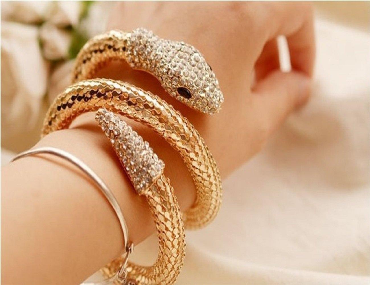 MENGDA Diamond Snake Bracelet