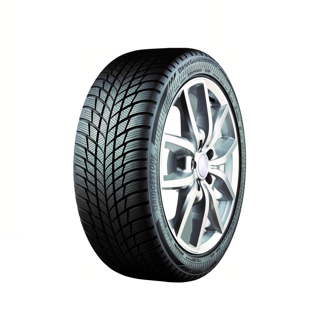Bridgestone DriveGuard Winter RFT - 195/65/R15 95H - C/B/72 - Winter Tire 195/65 R15