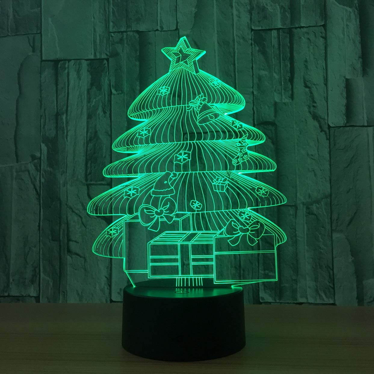Turquoise Christmas Lights.Turquoise Lamp A Batch Of Christmas Tree Night Light New