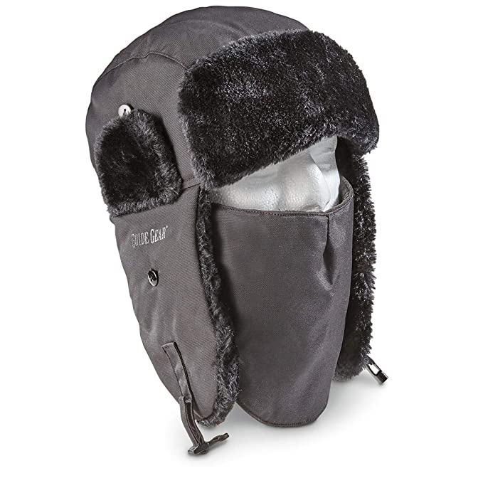 447c2341bfb43c Image Unavailable. Image not available for. Color: Guide Gear Insulated Trapper  Hat ...